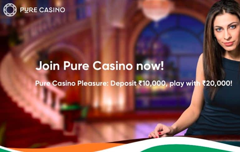 Pure Casino offer